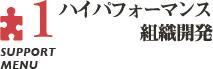 support menu1 ハイパフォーマンス組織開発